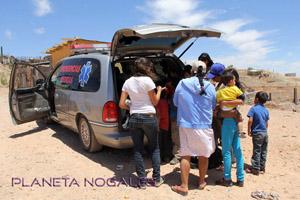 Panchito Olachea ambulance - Planet Nogales