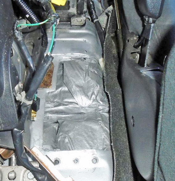 Meth found in a vehicle driven by a 58-year-old Tucson woman