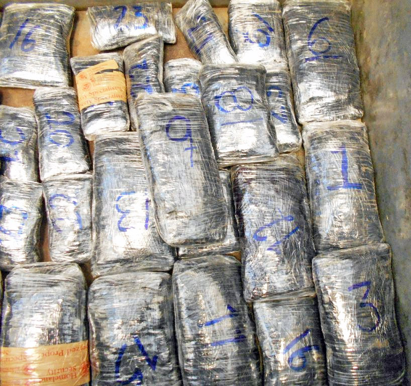 Nearly 25lbs of meth was discovered in a Volkswagen sedan driven by a Nogales, Mexico man