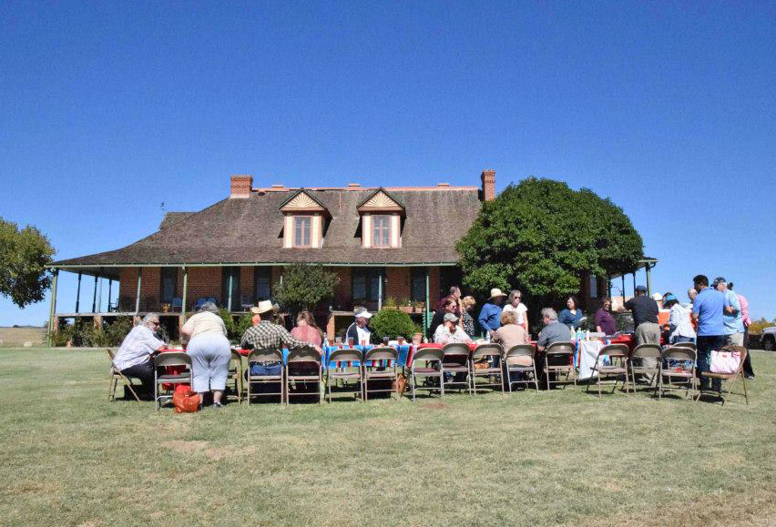 Chuck wagon lunch at the San Rafael Ranch. photo (c) Sharon Brownell Solarzano