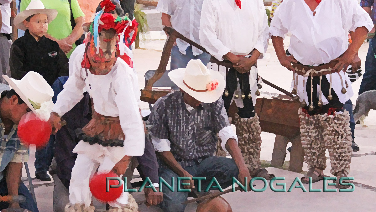 Traditional Yaqui deer dance