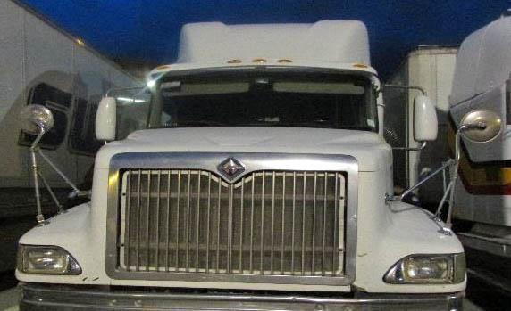 Truck seized in border drug interdiction efforts - Dec 2016