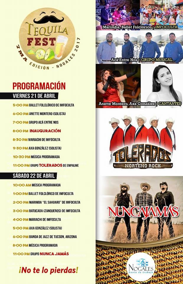 Nogales Mexico Tequila Fest 2017